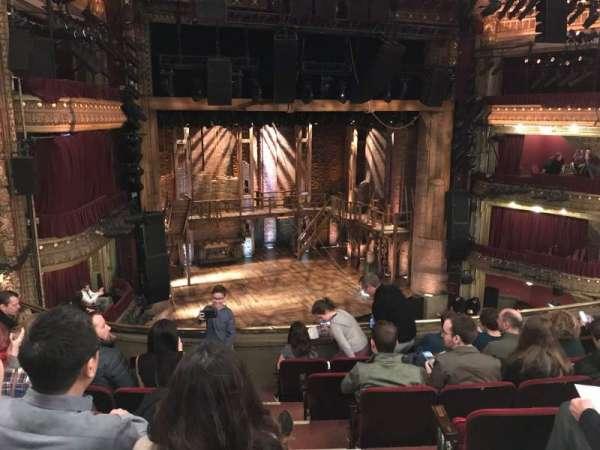 CIBC Theatre, secção: Mezzanine L, fila: G, lugar: 3