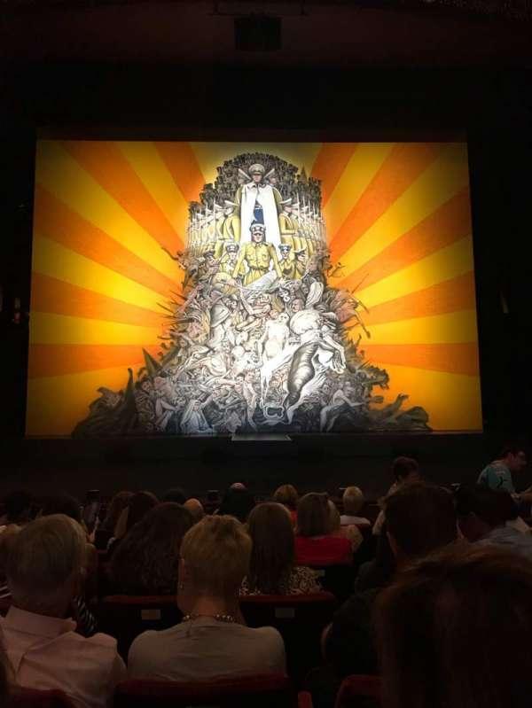 State Theatre at the Arts Centre Melbourne, secção: Stalls, fila: G, lugar: 23