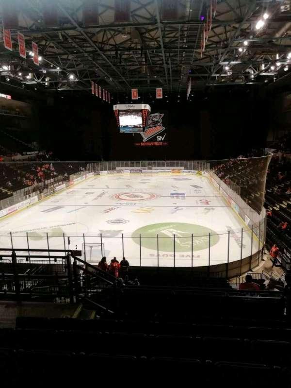 FlyDSA Arena, secção: 211, fila: g, lugar: 13
