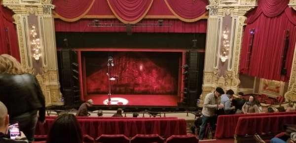 James M. Nederlander Theatre, secção: Balcony C, fila: J, lugar: 309