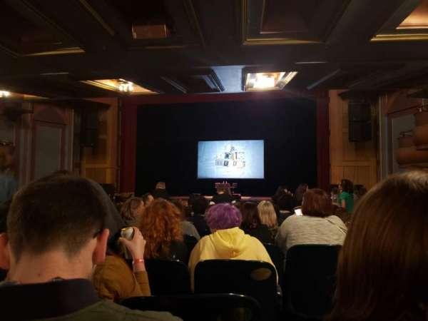 Murat Theatre at Old National Centre, secção: Orch-Center, fila: DD, lugar: 20
