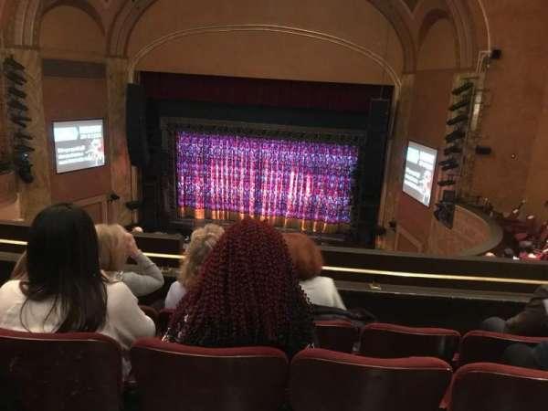 State Theatre New Jersey, secção: Balcony, fila: G, lugar: 18
