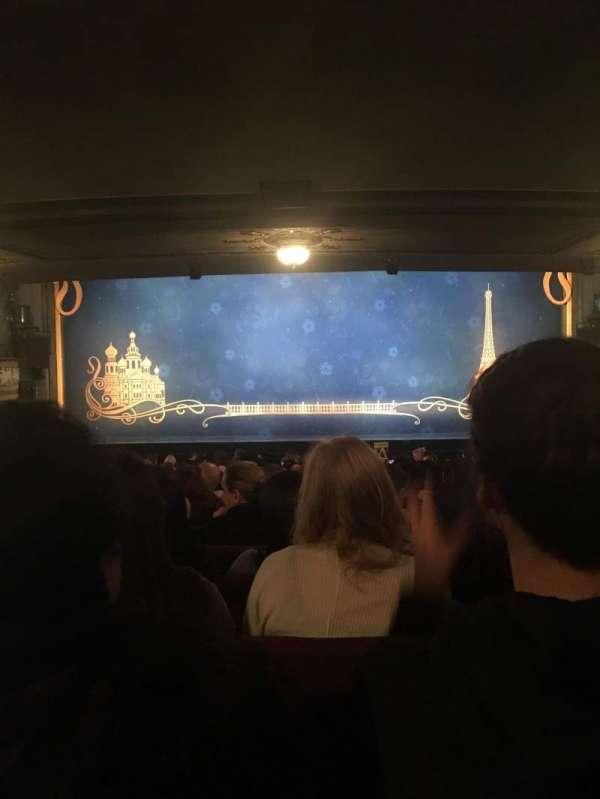 Broadhurst Theatre, secção: Orchestra C, fila: S, lugar: 106
