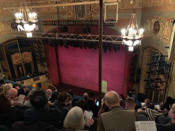 Shubert Theatre, secção: Balc Right, fila: G, lugar: 108