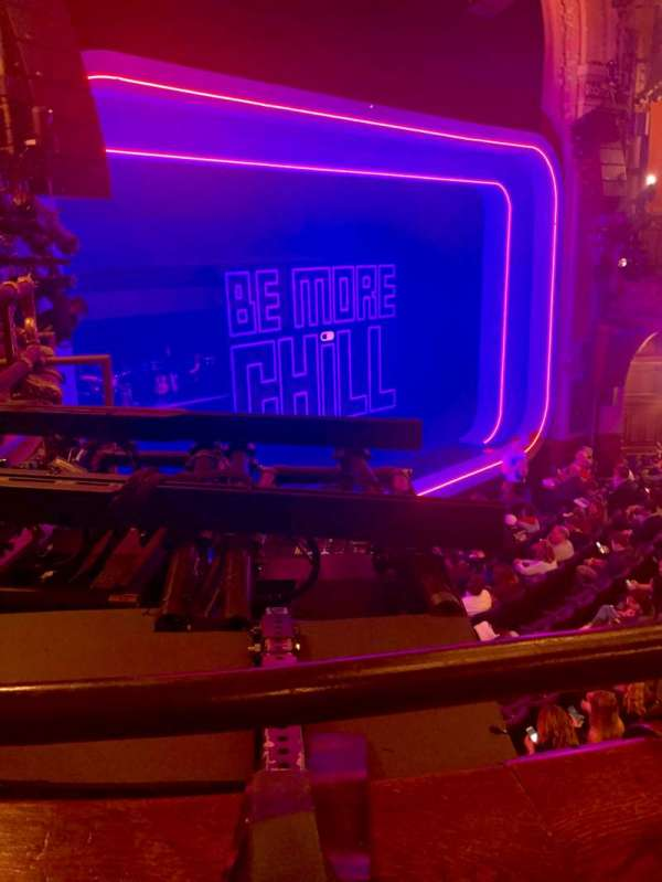 Lyceum Theatre (Broadway), secção: Mezzanine L, fila: A, lugar: 19