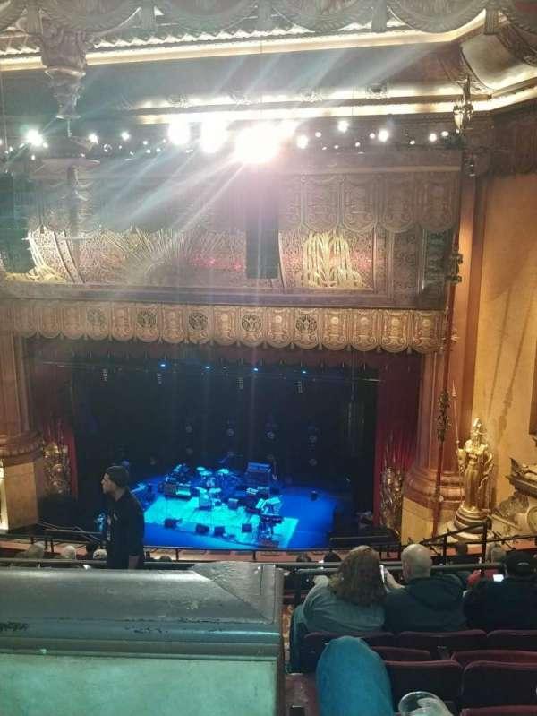 Beacon Theatre, secção: Upper Balcony 2, fila: K, lugar: 16