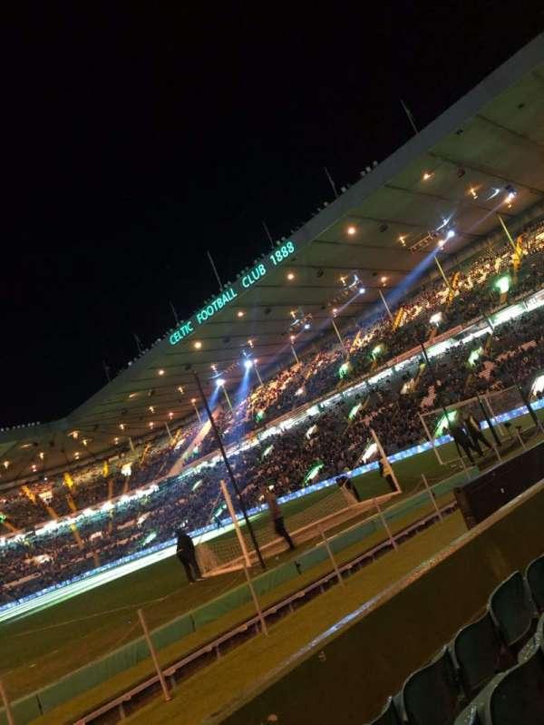 Celtic Park, secção: 117, fila: C, lugar: 4