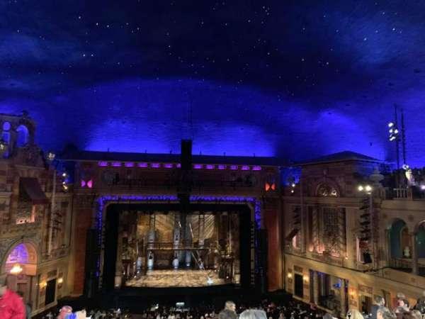 Saenger Theatre (New Orleans), secção: Balcony center, fila: J, lugar: 105