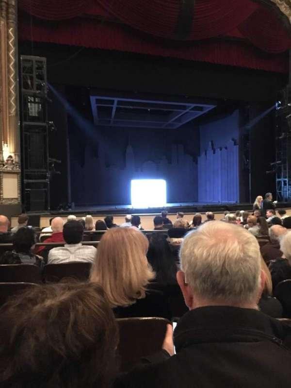 Golden Gate Theatre, secção: Orchestra L, fila: N, lugar: 11
