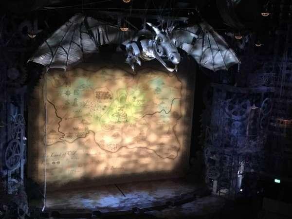 Apollo Victoria Theatre, secção: Circle, fila: F, lugar: 37