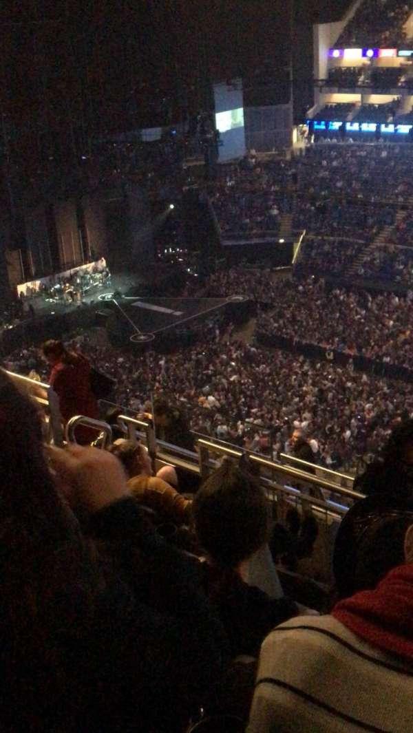 The O2 Arena, secção: 405, fila: m, lugar: 570