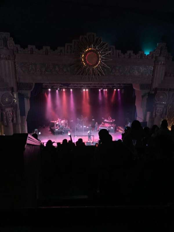 Aztec Theatre, secção: Balcony, fila: L, lugar: 28