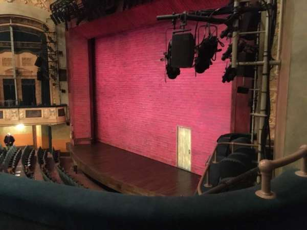 Shubert Theatre, secção: Mezzanine Right, fila: B, lugar: 28