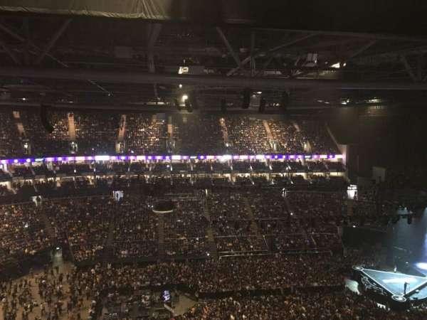 The O2 Arena, secção: 419, fila: N, lugar: 899-898