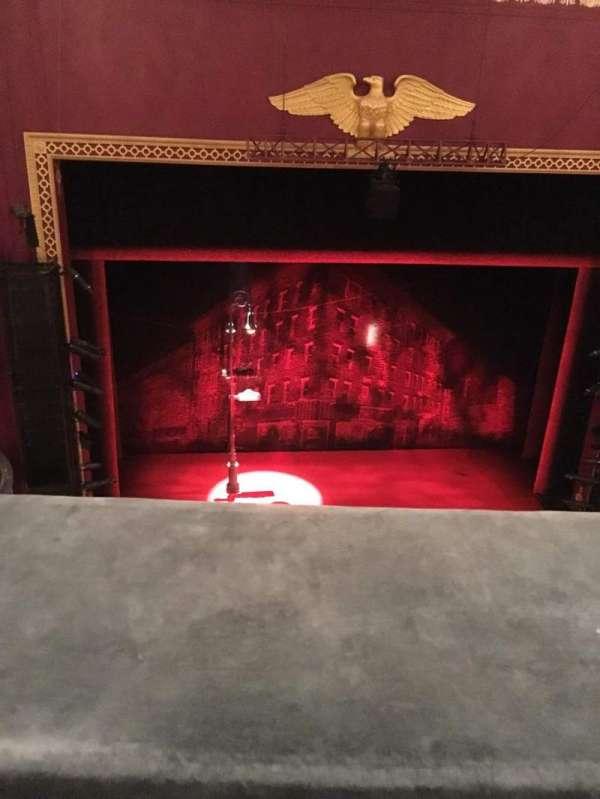 National Theatre (DC), secção: Balcony, fila: A, lugar: 112