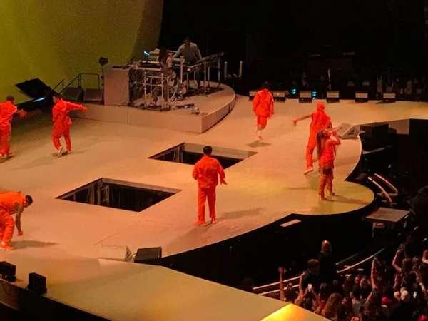Mohegan Sun Arena, secção: 118, fila: A, lugar: 10