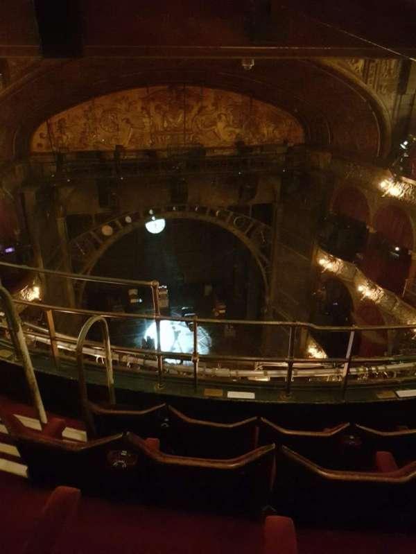 Palace Theatre (West End), secção: Balcony, fila: D, lugar: 20