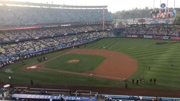 Dodger Stadium, secção: 24RS, fila: C