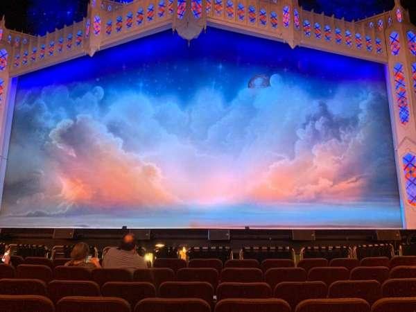 Hippodrome Theatre, secção: Center Orchestra, fila: G, lugar: 111