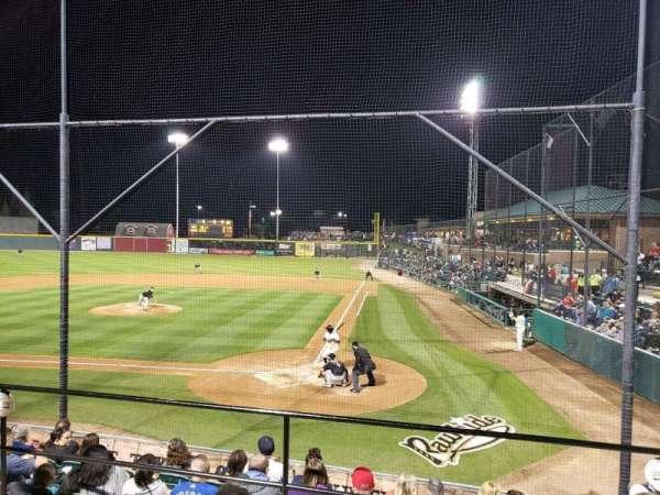 Rawhide Ballpark, secção: 206, fila: G, lugar: 2