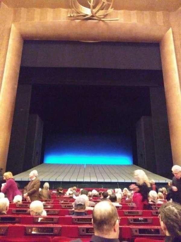 Metropolitan Opera House - Lincoln Center, secção: Orchestra, fila: N, lugar: 109