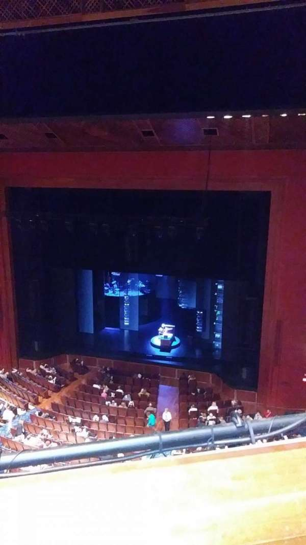 Au-Rene Theatre at the Broward Center, secção: Balcony R, fila: A, lugar: 2