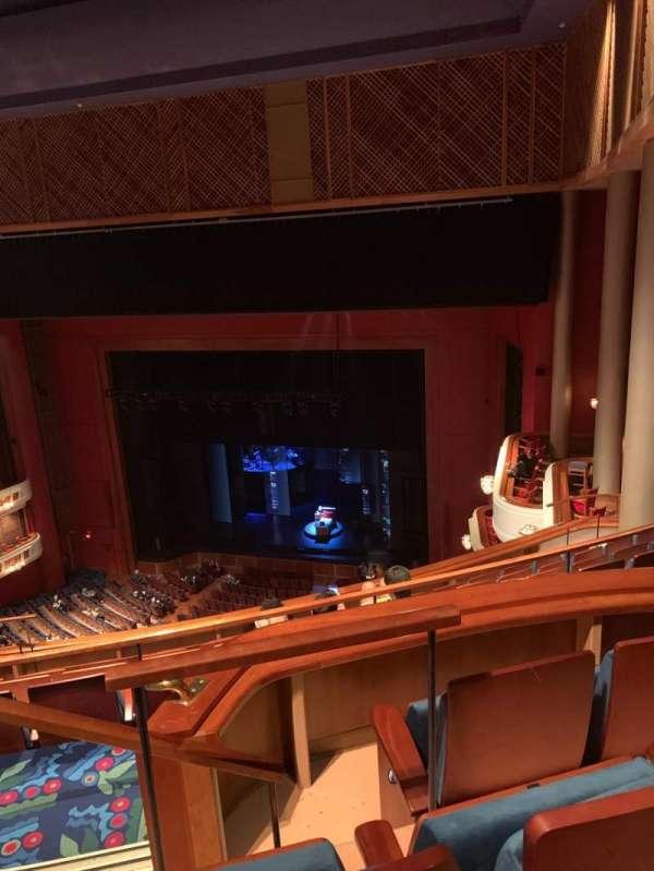 Au-Rene Theatre at the Broward Center, secção: Balcony R, fila: G, lugar: 2
