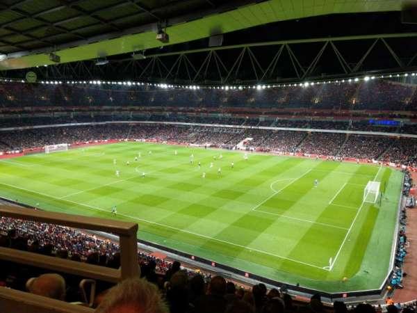 Emirates Stadium, secção: 109, fila: 9, lugar: 488