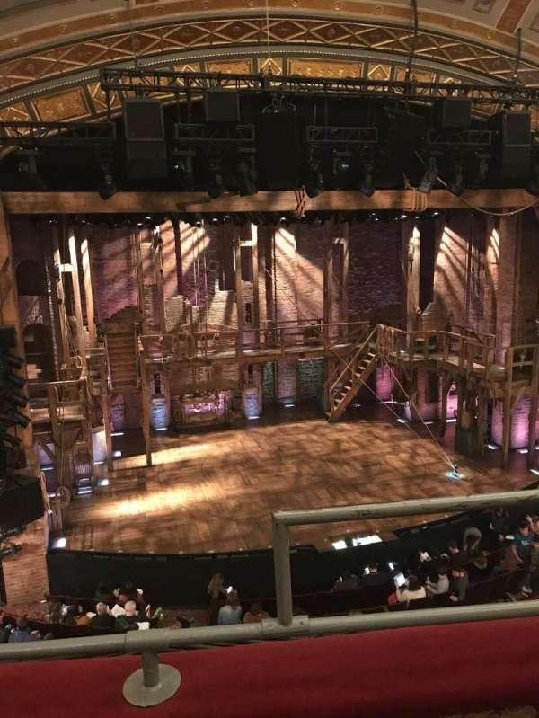 Richard Rodgers Theatre, secção: Front Mezzanine L, fila: B, lugar: 1