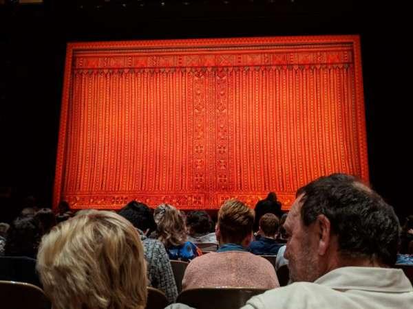 Keller Auditorium, secção: Orchestra C, fila: F, lugar: 7