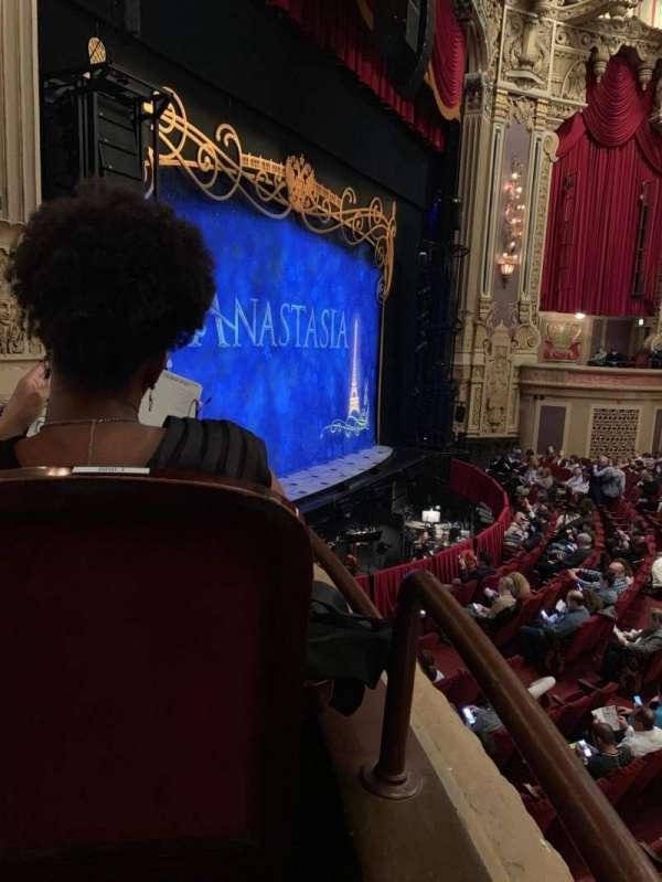 James M. Nederlander Theatre, secção: Dress Circle L, fila: CCC, lugar: 1-2
