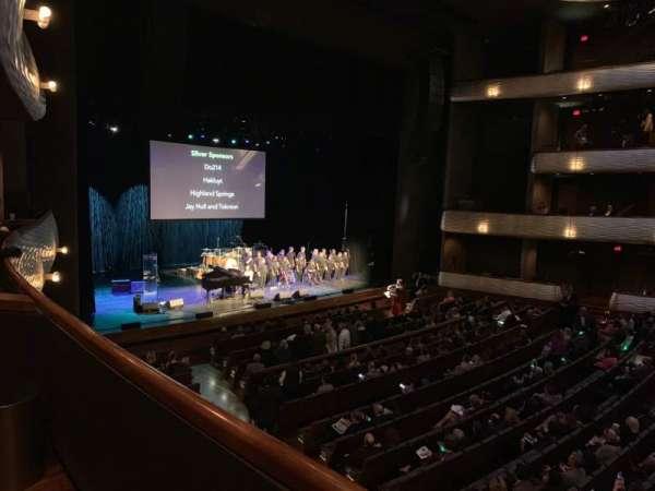 Winspear Opera House, secção: Box D, lugar: 4