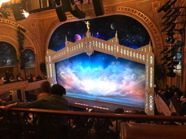 Eugene O'Neill Theatre, secção: Mezzanine, fila: E, lugar: 2