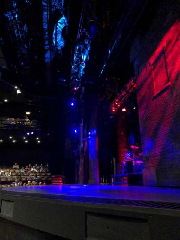 Gillian Lynne Theatre, secção: Stalls, fila: B, lugar: 25