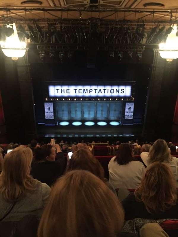 Imperial Theatre, secção: Mezzanine, fila: D, lugar: 112