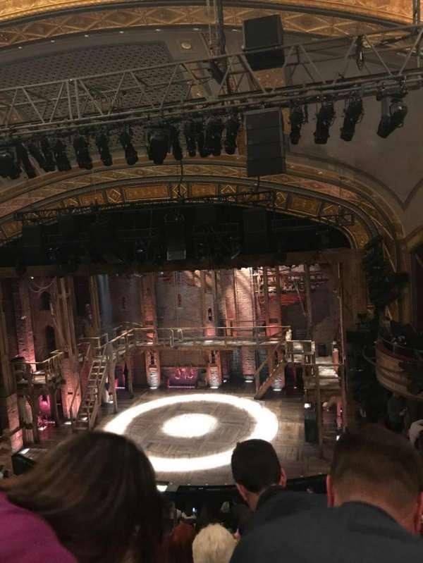 Richard Rodgers Theatre, secção: Front Mezzanine R, fila: F, lugar: 6
