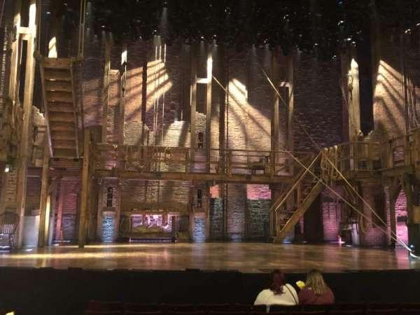 Richard Rodgers Theatre, secção: Orchestra C, fila: J, lugar: 11-13