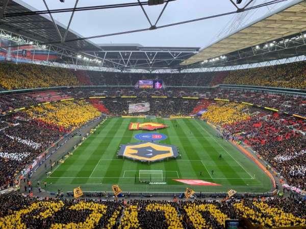 Wembley Stadium, secção: 514, fila: 17, lugar: 1