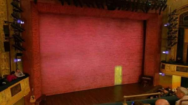 Shubert Theatre, secção: mezzanine l, fila: d, lugar: 7