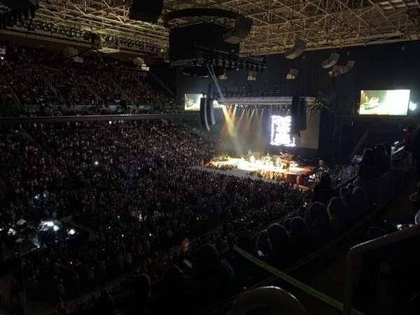 Greensboro Coliseum, secção: 226, fila: E, lugar: 1