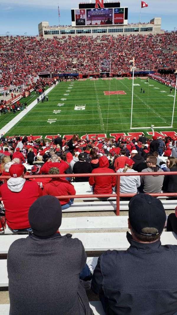 Memorial Stadium (Lincoln), secção: 16-C, fila: 46, lugar: 15