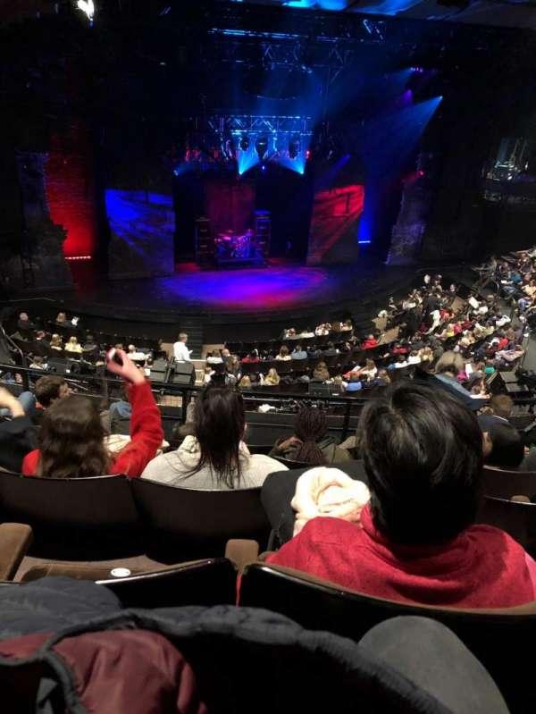 Gillian Lynne Theatre, secção: Circle, fila: E, lugar: 56