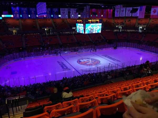 Nassau Veterans Memorial Coliseum, secção: 205, fila: 12, lugar: 16