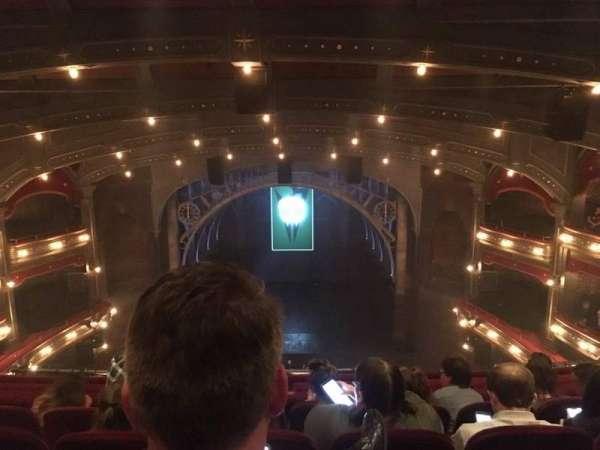 Lyric Theatre, secção: Balcony C, fila: D, lugar: 112