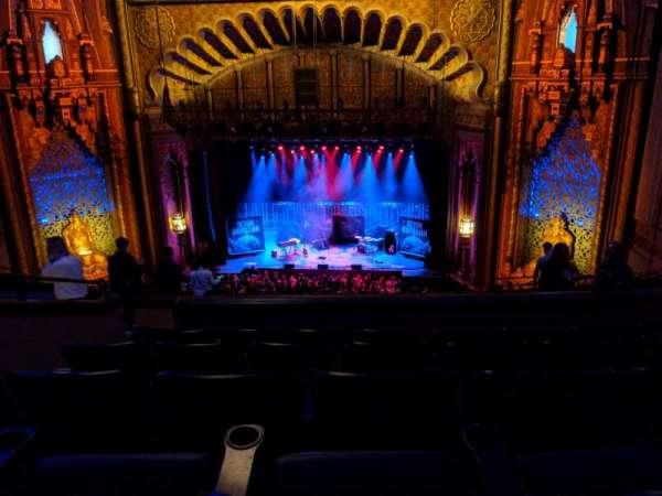 Fox Theatre Oakland, secção: Mezzanine, fila: K, lugar: 114