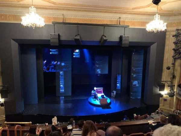 Music Box Theatre, secção: Mezzanine C, fila: F, lugar: 110
