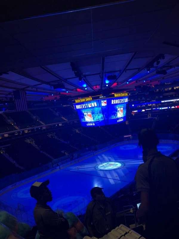 Madison Square Garden, secção: 220, fila: 10, lugar: 25