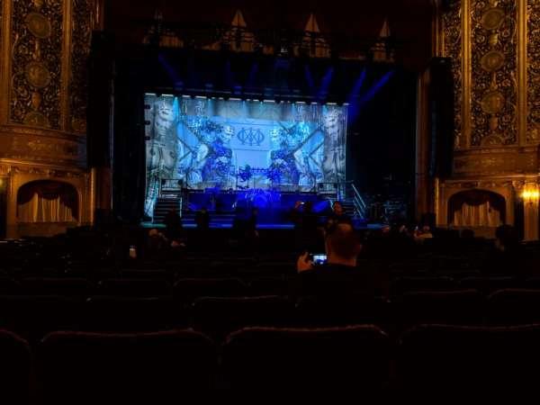 Warner Theatre (Washington, D.C.), secção: Orchestra, fila: Q, lugar: 120