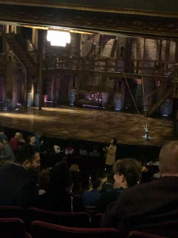 Richard Rodgers Theatre, secção: Right orchestra, fila: U , lugar: 18