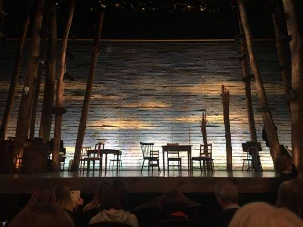 Gerald Schoenfeld Theatre, secção: Orchestra C, fila: D, lugar: 108